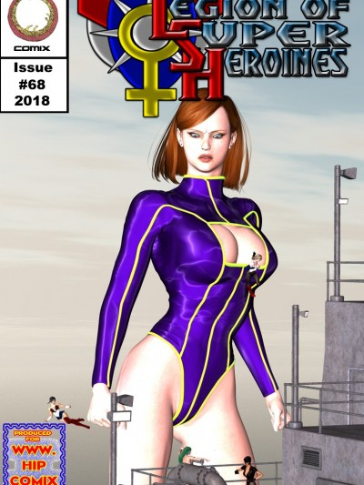 Legion of Superheroines 68- Uroboros [Hipcomix]